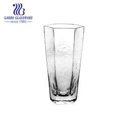 卸し売りハンドメイドの不規則な形のハンマーのパタングラスの水ジュースGB38420290