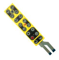 Juegos Personalizados de interruptor de membrana teclado con FPC y de cúpula Emboss