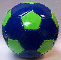 Cosida a máquina americana de PVC de tamaño 5 Promoción Soccerball