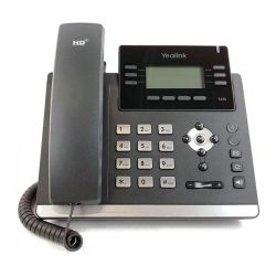 Yealink T42S (Skype para negócios) ultra-elegante telefone IP Gigabit SIP-T42S