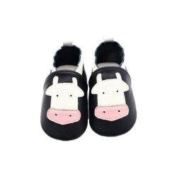 أحذية عالية الجودة من الجلد الناعم غير الرسمي للأطفال الرضع (QC20929-8)