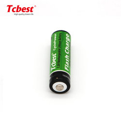 AA 1,5 V Chargeur de batterie rechargeable au lithium 2800mwh