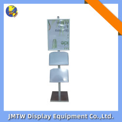 安定したベースが付いている贅沢なアルミニウム床の地位のスナップポスター立場の表示