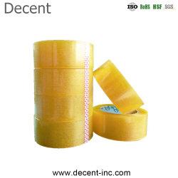 Super clara la cinta de bajo precio de muestras gratis de cartón de embalaje BOPP cinta adhesiva cinta de sellado