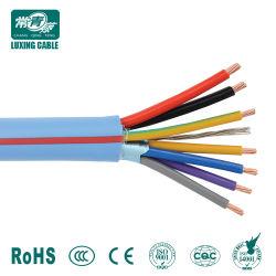Cinta de acero se proyectó la cinta de cobre del cable de mando blindado