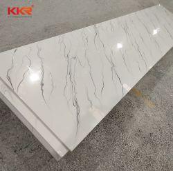 修正された純粋なアクリル樹脂の石の固体表面シートの人工的な石