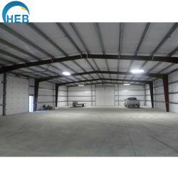 屋根の処理場の鉄骨構造の構築が付いている鋼鉄建築構造