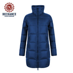 여성용 롱스타일 겨울 아웃도어 코트는 FM Lightweight Fabric을 만들었습니다 패딩