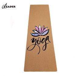 Soem gedrucktes natürliches Meditation-Korken-Yoga Matts