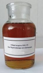 4 en 1 de la enzima Gml-41 mixta de detergente líquido