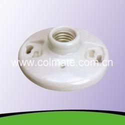 E26 / E27 do soquete da lâmpada de cerâmica e porcelana