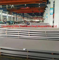 ASTM 304 최고 가격 중국제 편평한 강철을%s 가진 304L 스테인리스 장