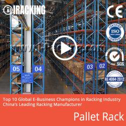 Acier/palette métallique Rack de stockage de l'entrepôt à usage intensif