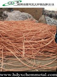 Desperdícios de fios de cobre 99,99% com boa qualidade na China Fabricação