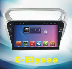 Automobile Android DVD del sistema per C-Elysee con percorso dell'automobile