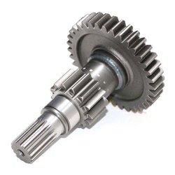 Engrenagem de forjamento pesado grande eixo da engrenagem do eixo do pinhão para peças da caixa de velocidades