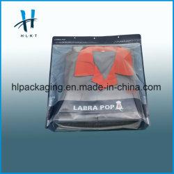 BOPP RPC Curseur imprimé coloré de sacs à fermeture éclair pour vêtement