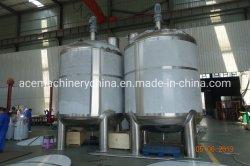 Máquina de fabricación de jabón líquido de Mezcla de depósito mezclador buque
