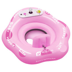 Listo en Stock - Radio Control Toy Piscina de agua para nadar barco RC Toy atracciones de agua de piscina de flotación de la Ring paseo para niños juguetes de bebé juguetes acuáticos