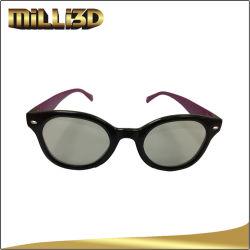 Cinéma jetables de polariser les lunettes Reald 3D Cadre en plastique pour les films