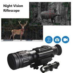 옥외 난조 광학 광경 전술상 디지털 적외선 야간 시계 Riflescope