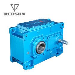 Scatola ingranaggi vuota smussata elicoidale industriale della trasmissione dell'asta cilindrica di serie di Redsun H