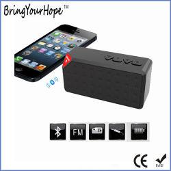La carte de TF cubique de radio FM de la brique Mini haut-parleur Bluetooth (XH-PS-613)