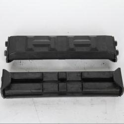 굴삭기용 고무 패드 500mm 폭(클립 온 타입