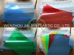 ورقة PVC صلبة لتغطية التجليد مقاس A4 / A3 أو مخصص