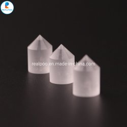 Le verre optique Plano-Convex Axicon quartz cristallin, prisme de cône