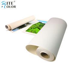380GSM装飾のインクジェット芸術のEco溶媒印刷のための多綿のキャンバス