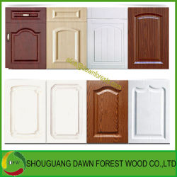 Meubles en bois Film PVC Porte armoire de cuisine Mobilier pour Panneau mural
