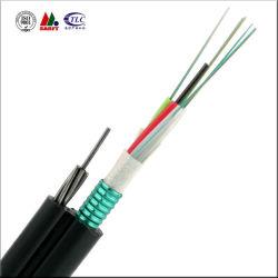 Figura esterna aerea 8 cavo della fibra di sostegno di auto di telecomunicazione