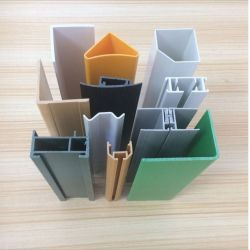 Profil PVC Extrusion profiles en plastique PVC windows