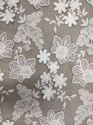 Vestito/sciarpa di lavoro a maglia squisiti dall'indumento del pannello esterno di Texitle Deaign del tessuto del merletto