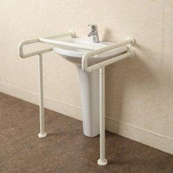 Toletta resa non valida bracciolo interno di superficie di nylon veloce della barra di gru a benna di sicurezza della stanza da bagno del corrimano di handicap di memoria del tubo dell'acciaio inossidabile di Dispatc