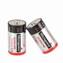 Water Heater를 위한 최신 Sale Dry Cell Lr20 Alkaline Battery 1.5V D Size Battery