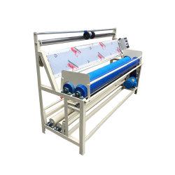 Pano tecido máquina de inspeção do enrolamento de dobragem