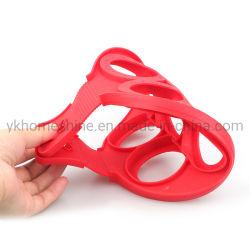 Mehrfachverwendbares Silikon-Nahrungsmittelgrad-nicht Stock-Pfannkuchen-Hersteller-Ei Ring