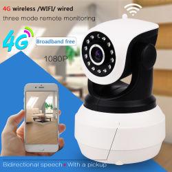 IP van het Toezicht van kabeltelevisie WiFi van de 2.0MP1080P HD 3G 4G SIM Kaart Draadloze Camera met Bulit in Veiligheid van het Huis van het Netwerk van de Batterij P2p de Video