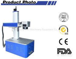 marcadora láser de fibra para Logo regalos artesanales impresión Metal Plástico marca patrón con el equipo