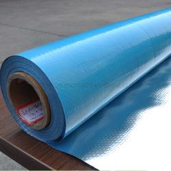 防眩補強された熱材料によって編まれる布のアルミホイルの熱絶縁体