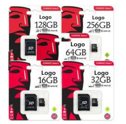 La carte de TF 128 g16g 32 g C10 Carte mémoire Micro SD de téléphone mobile Petite carte de stockage pour Kingston Ypf17