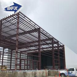 A construção modular Prefab Rápido Industrial estrutura metálica do Prédio de Depósito de metal