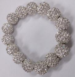 Очень красивый Crystal Shamballa браслет