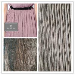 サテンのクレープ生地、衣類のためのポリエステルと織物