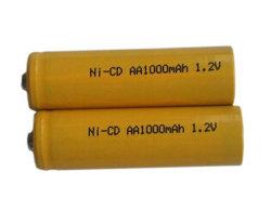 1,2V AA 900mAh Batterie Ni-CD