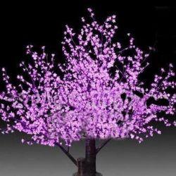 Navidad LED LED artificial de las luces de árbol de cerezos en flor