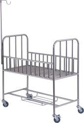 Roestvrij staal Baby Bed voor Medical