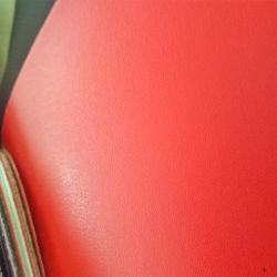 hecho personalizado tejidos de punto de PVC tejido de cuero artificial para la fabricación de muebles
